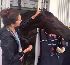 Royals & Fashion: Meeting with the Danish team riding, Rio