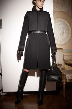 Lanvin Pre-Fall 2013 Fashion Show - Marine Deleeuw