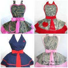 Giveaway: ♥ Flirty and Fun Military Apron by Shawna ♥