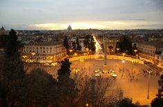 """Squares of Rome at Sunset Small-Group Tour See the Baroque architecture of Rome under the magic of moonlight on a 3-hour sunset walking tour of its piazzas. Experience the famous """"La Dolce Vita"""" in the city's public sitting rooms, such as the Piazza di Spagna, Piazza di Trevi, and Piazza Navona.  Experience the famous Dolce Vita of Rome on a 3-hour walking tour and see its historic piazzas at magical sunset hour, when the city truly comes alive.Start at the lov..."""