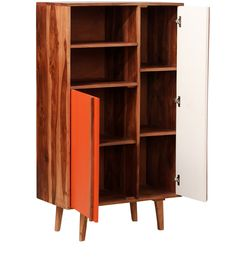 Bookcases are a great place to store things along with your books. You can use the furniture to store your decorative items, photo albums, figurines, antiques and transform it into a bookshelf cum showpiece. Select from a wide range of bookcases online at Pepperfry.