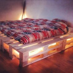 Finaly finnished!! #palletbed #upcycling #Padgram