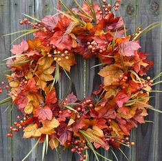 Autumn Wreaths To Beautify Your Home