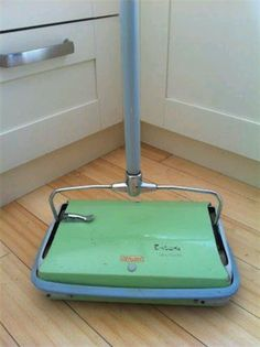 Ewbank carpet sweeper...when as a child you wanted to sweep the floor My Mum still uses hers!