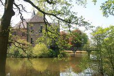 Zicht op het kasteel Vorden