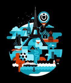 KOT illustration by koivo , via Behance