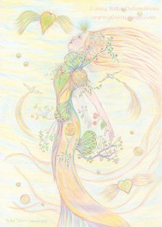 The Intuitive Art of Rika Dehombreux: Sylphs as Light-Beings in Intuitive Art