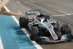Bottas on top at Formula 1 Abu Dhabi Grand Prix  Mercedes-AMGs Valtteri Bottas at the 2017 Formula 1 Abu Dhabi Grand Prix  Enlarge Photo  Mercedes-AMGs Valtteri Bottas concluded the 2017 Formula 1 World Championship with a decisive win on Sunday at the Abu Dhabi Grand Prix. It was Bottas third F1 victory and his first at the Yas Marina Circuit where the race was held.  Behind him was fellow Mercedes driver Lewis Hamilton. Despite already securing the 2017 title several weeks earlier Hamilton…