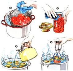 Here's how to safely can delicious tomatoes at home based on U.S. Department of Agriculture guidelines.data-pin-do=
