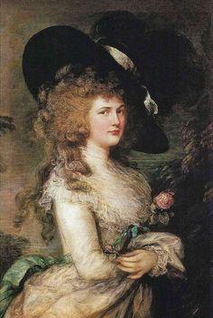 "Berühmte Kunstraube: Thomas Gainsborough ""Portrait von Lady Georgiana Cavendish"" (1787)"