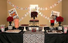 Cassino tema festa.  casino themed party - good idea for an adult birthday