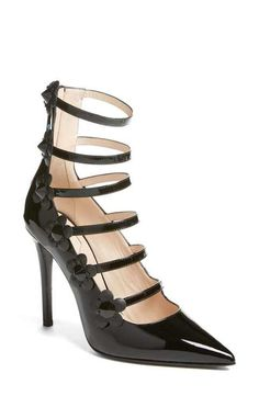 Fendi 'Flowerland' Strappy Pump (Women)