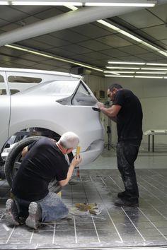 Relive the birth of #InitialeParis concept car behind the scene of #Renault #Design. (c) J. Vekemans - Droits réservés Renault