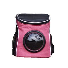 againg Portable Canvas Transparent and Breathable Bubble Pet Backpack for Adventure or Travelling * Learn more by visiting the image link.-It is an affiliate link to Amazon. #DogCarrierTravel