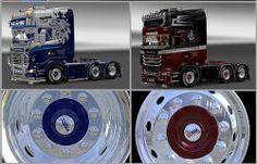 Euro Truck Simulator 2 Michelin Alcoa Jant Yaması