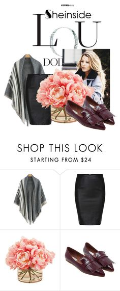 """Sheinside II/7"" by doris-popovic ❤ liked on Polyvore featuring The French Bee"