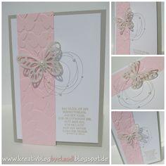 Kreativ Blog by Claudi: Das Glück ist ein Schmetterling...