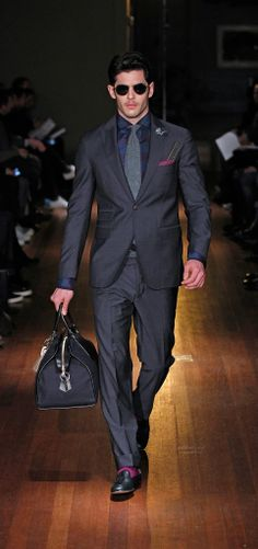Fall 2014 Menswear Michael Bastian