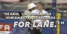 """Tuff Hedeman's """"Ride for Lane"""""""