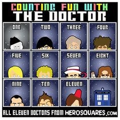 Image of Dr Who Collection! All Eleven Doctors!!