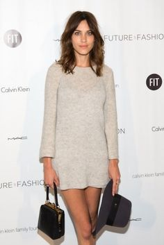 Alexa Chung at the Future of Fashion Show at FIT in New York