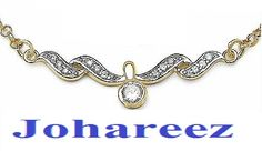 Spend your budget at magnificent gold jewel like entincing necklace at johareez that match to your fashion desires!