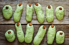 Halloween witch's fingers cookies - nata_vkusidey/Getty Images
