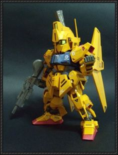 SD MSN-00100 Hyaku Shiki Gundam Ver.2 Free Paper Model Download