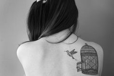 awesome tattoo design on back – best tattoo for women