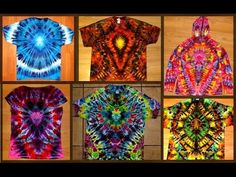 Secrets of Tie Dye: The Emblem - YouTube