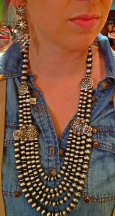Navajo pearls, OMG I just love
