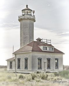 Old Weathered LightHouse by Garrett Winslow, via 500px