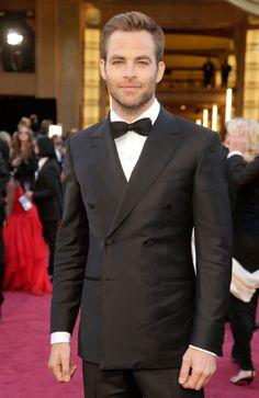 Chris Pine - Oscars 2013