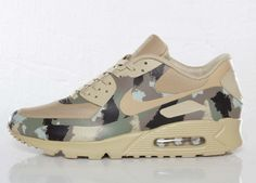 Nike Air Max 90 Hyperfuse Italian Camo Detailed Pictures