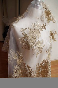... Black mesh 3D embroidered dress lace fabric