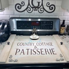 Noodle board/ gas or regular / stove cover, stovetop cover, boards for stove, farmhouse stove cover, farmhouse sign / stove board