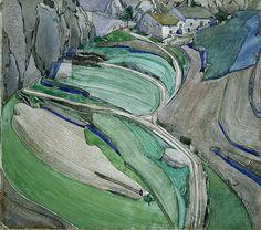 """""""Mont Alba"""" by Charles Rennie Mackintosh"""