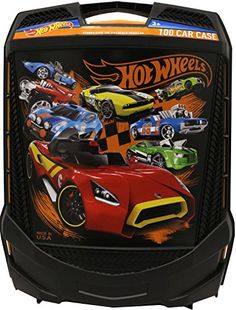 From the ManufacturerThis case holds up to 100 1:64th scale Hot Wheel Vehicles. Lift the telescoping handle & wheel the case anywhere.Product DescriptionThis Hot Wheels rolling case has a telescoping ...