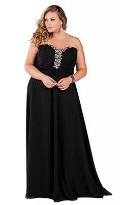 Fashion Bug Women's Plus Size Into the Night Evening Dress www.fashionbug.us #PlusSize #FashionBug #Dress #Wedding #Party