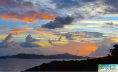 What a sunset! We've got some of the best - Come & see them for yourself…  www.cimmaronstjohn.com