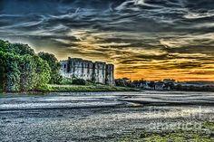 New print available on fineartamerica.com! - 'Carew Castle Sunset 4' by Steve Purnell - http://fineartamerica.com/featured/carew-castle-sunset-4-steve-purnell.html via @fineartamerica #sppl