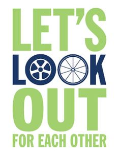 THINK safety tips for drivers and #cyclists