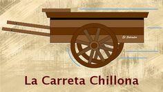 1er logo oficial de La Carreta Chillona. Se dejó de usar el viernes 17/10/2014.