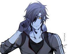 Mitsutada Shokudaikiri Render by Cyber-Z on DeviantArt Rogue Dnd, Date Masamune, Cool Swords, Vampire Hunter, Anime Eyes, All Anime, Touken Ranbu, Manga, Haikyuu