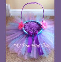 Tutu Easter Basket by MyPreciousTutu on Etsy, $40.00