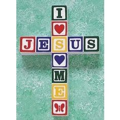 Kid's wall cross, perfect for Baby's room, playroom, or even kids bathroom! $19.95