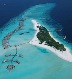 Luxury Boat hotel at Cocoa Island Resort in Maldives Via @adelto .co.uk .co.uk .co.uk