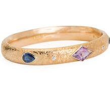 Riker Art Nouveau Gem Set Bracelet