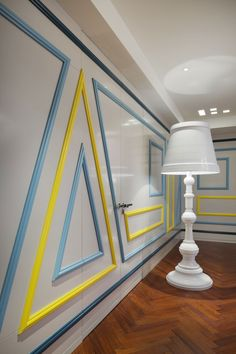 Beijing Fantasy by Dariel Studio - bright and strong colors, decorative surface patterns, asymmetric lines, shapes, deliberates eccentricity & playfulness!