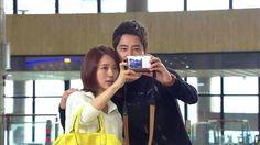Yoon Eun-hye and Kang Ji-hwan. Korean Drama Movies, Korean Actors, Sung Joon, Yoon Eun Hye, One Year Anniversary, Lie To Me, World History, Film, Couples